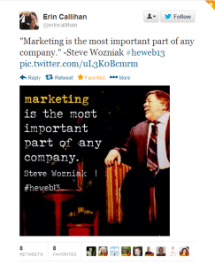 Woz: Marketing is the most important part of any company
